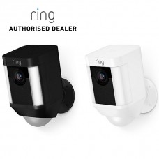 Wi-Fi - Ring Spotlight Cam Battery, Wire Free, Battery Operated
